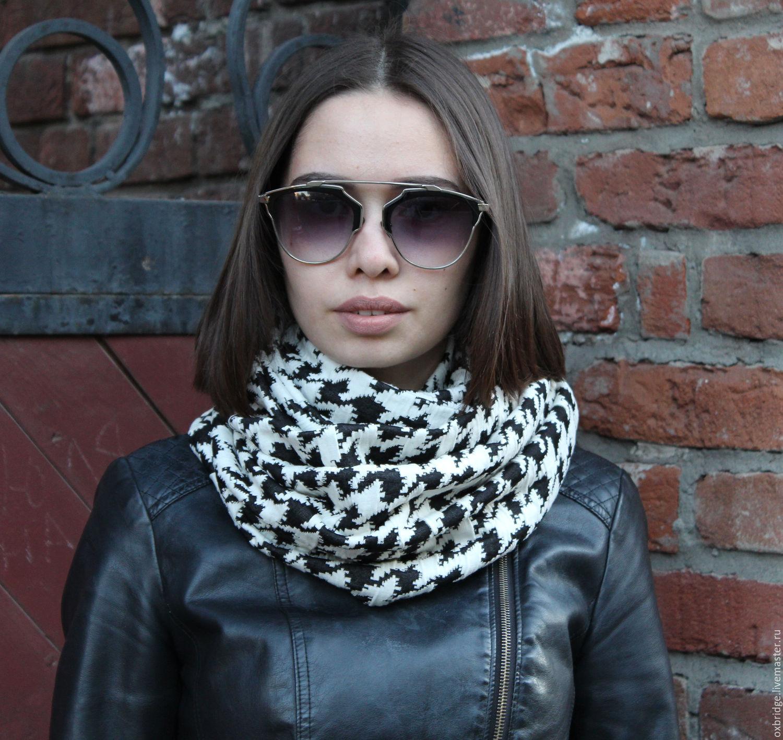 Женский шарф - снуд