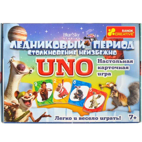 Настольная игра Уно Ледниковый период