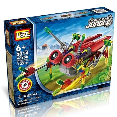 Электромеханический конструктор LOZ Robotic Jungle 3014