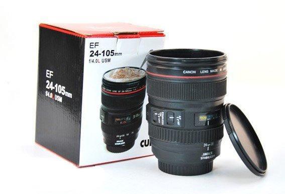 Чашка-объектив Canon EF 24-105 mm f/4 L