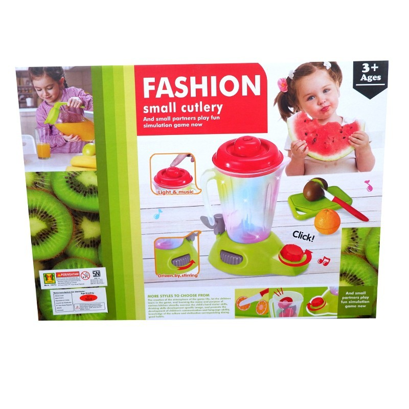 Детский игровой блендер с продуктами на липучках Fashion