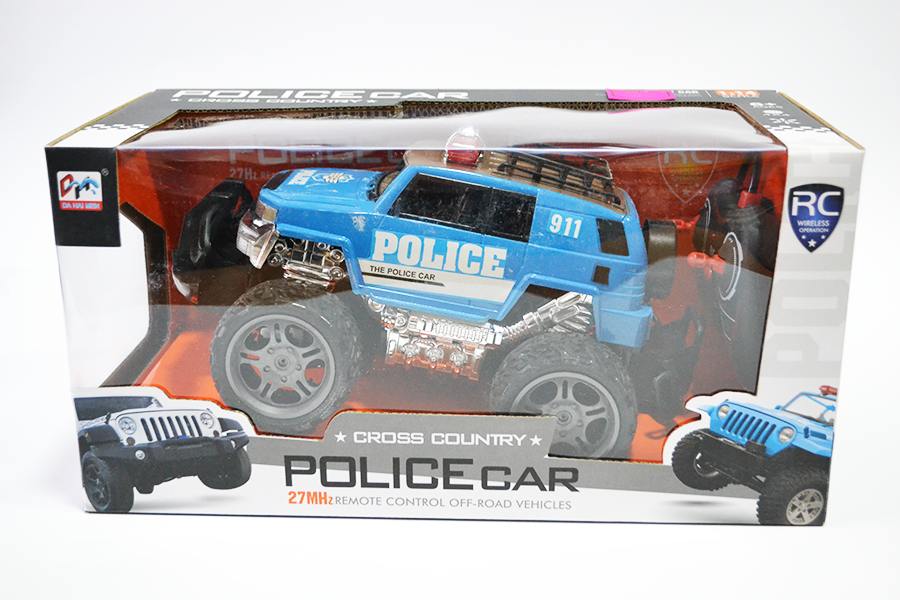 Машинка Police Car Cross Country на радиоуправлении