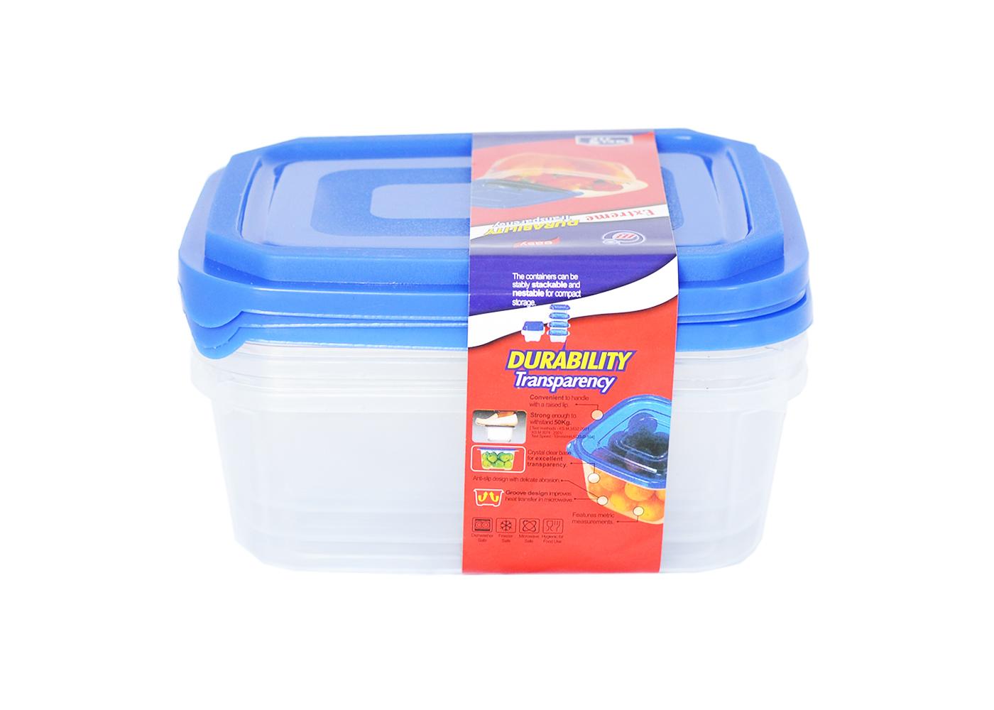 Пищевые контейнеры 3шт