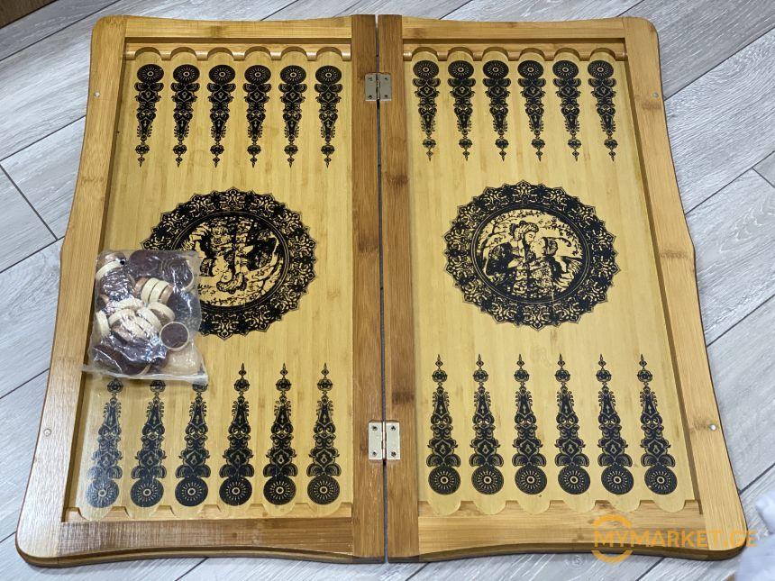 Нарды +шахматы (деревянные)