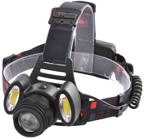 Мощный фонарь - стробоскоп.