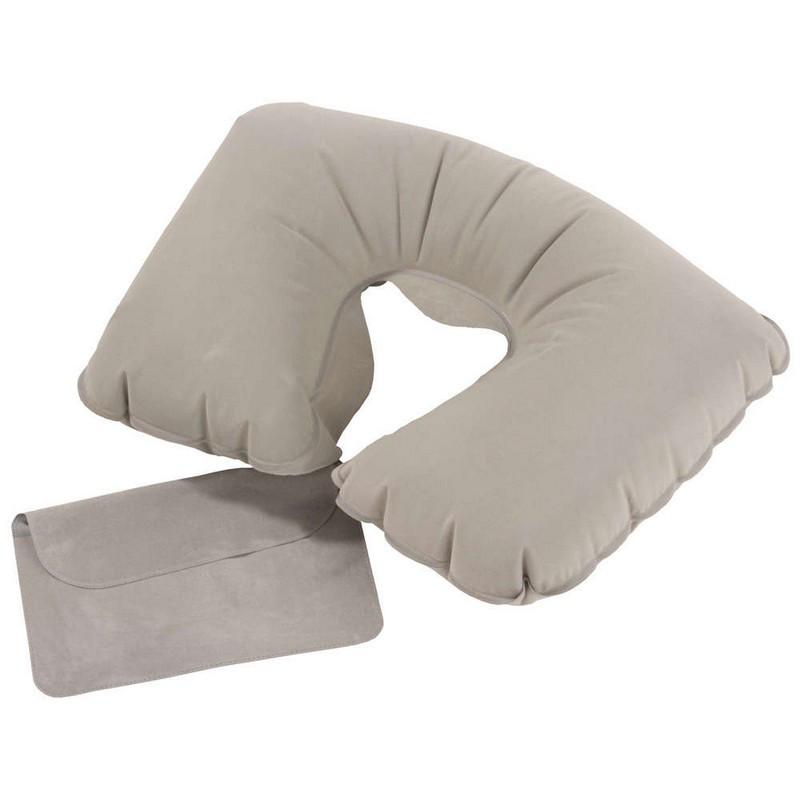 Подушка в дорогу (надувной рогалик)