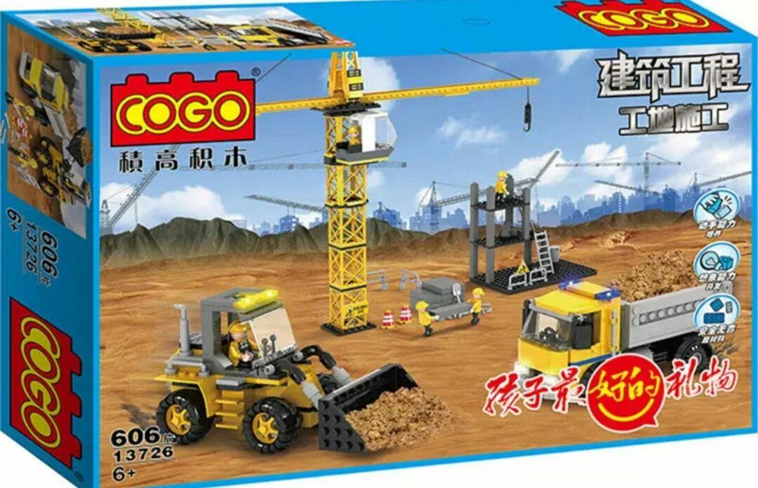 Конструктор от Cogo(lego)