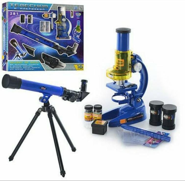 Микроскоп +телескоп