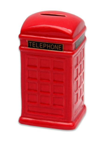 Копилка телефонная будка