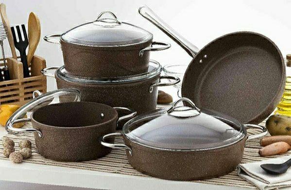 Набор посуды с каменным покрытием