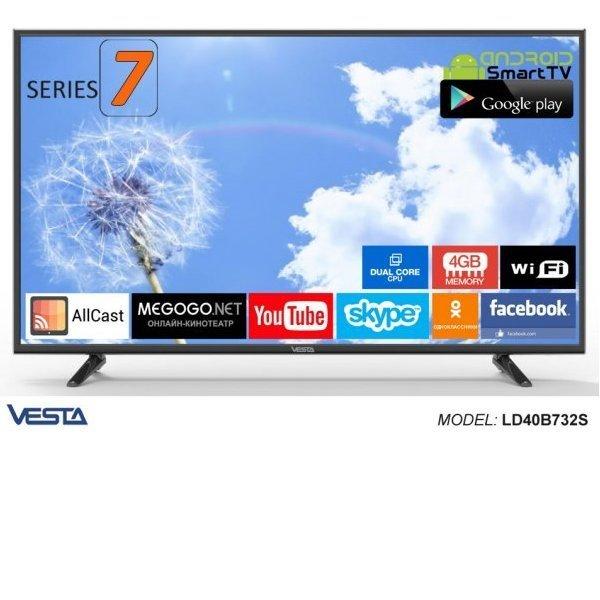VESTA SmartTV 2.0 LD40B732S DVB-C/T/T2
