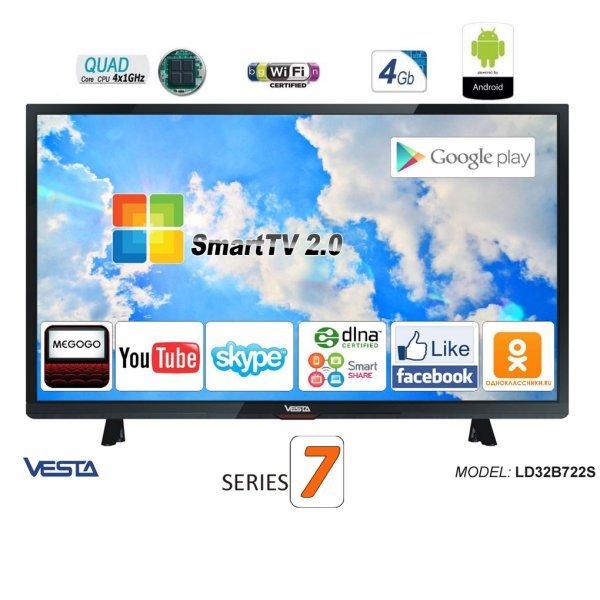 VESTA SmartTV 2.0 LD32B722S DVB-C/T/T2