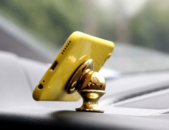Магнитный держатель для телефона, планшета, навигатора в авто, 360 Mobile Bracket