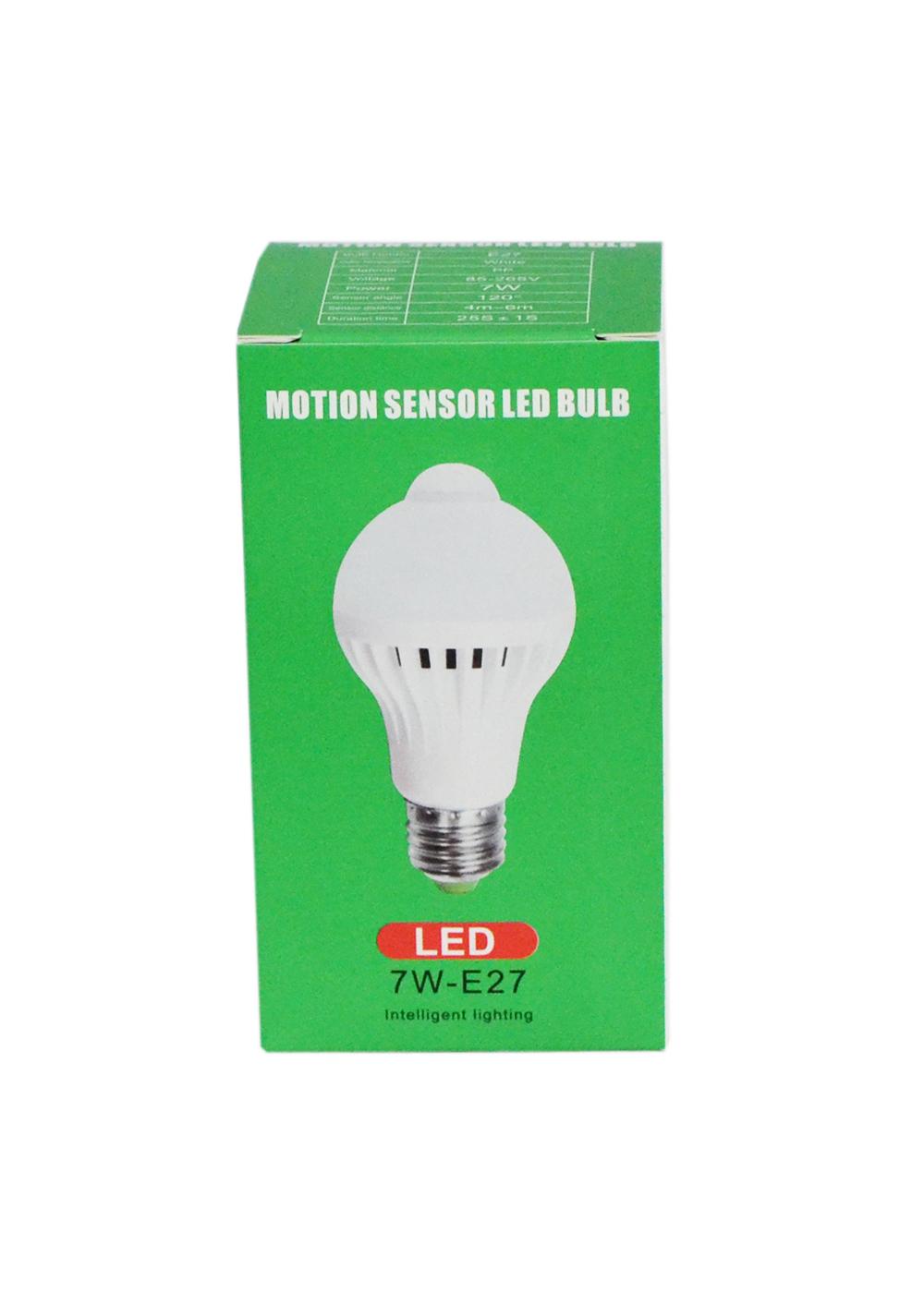 Лампочка LED 5W-E27 (датчик движения)