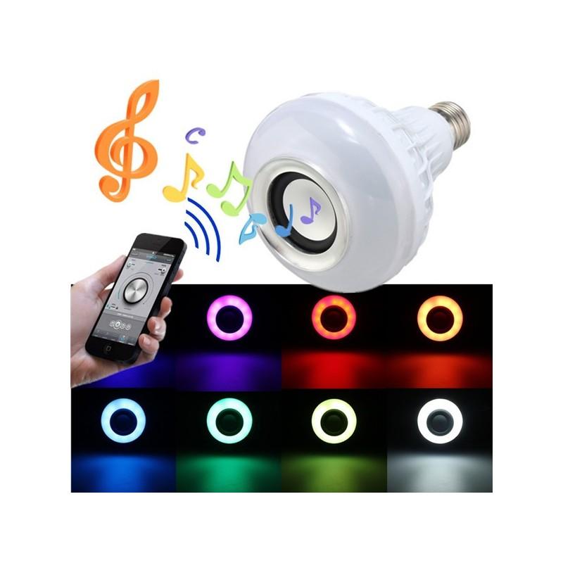 LED лампа с пультом