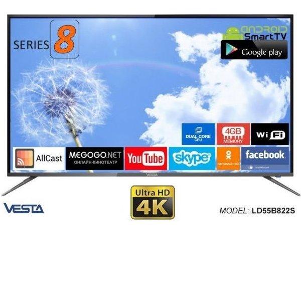 VESTA SmartTV2.0 LD55B822S 4K